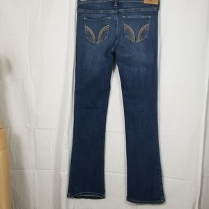 Hollister boot cut blue jeans size-27/ 31